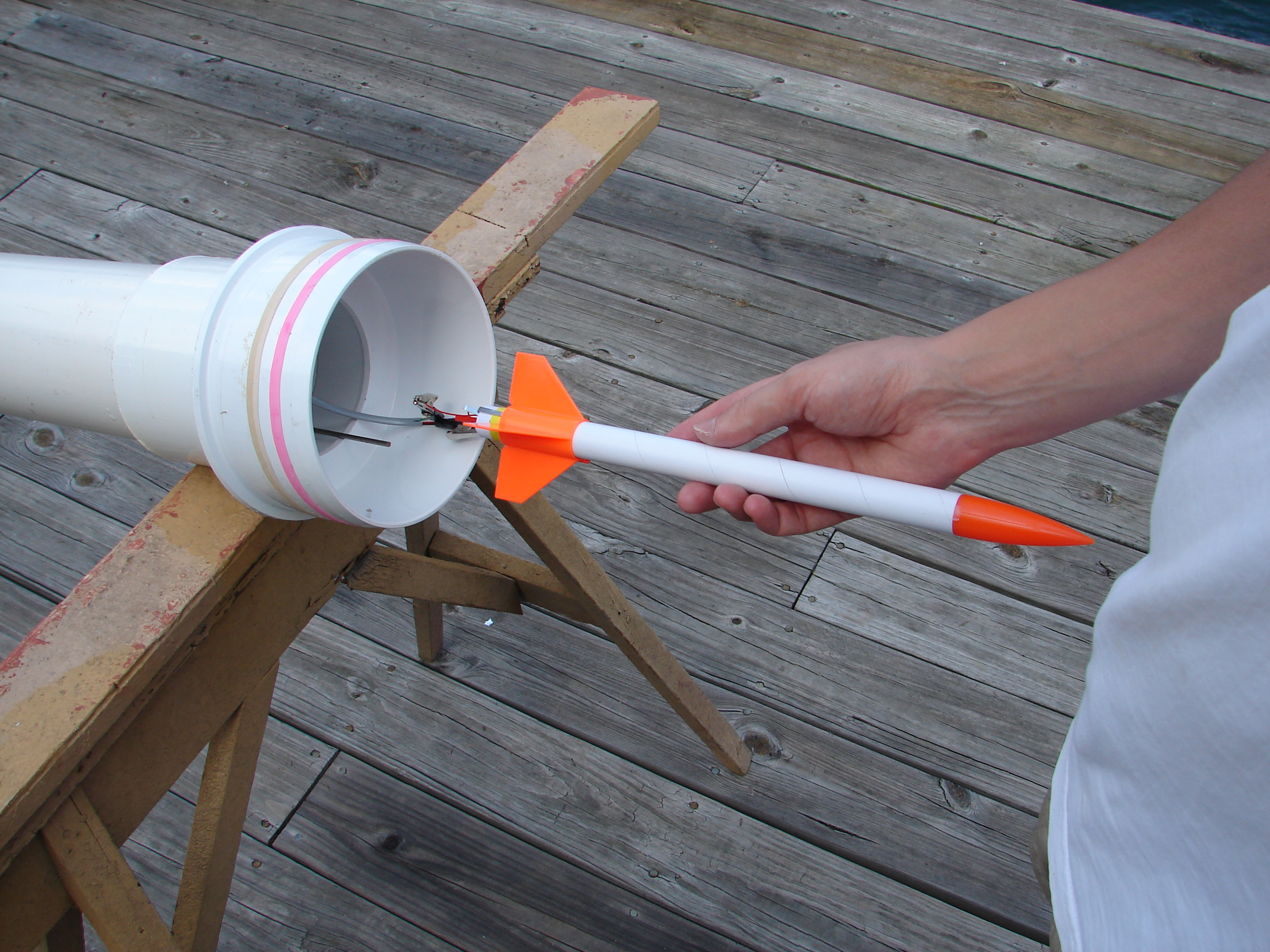 The underwater rocket project for How to make a cheap rocket